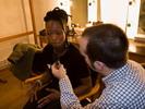 Interview met Dobet Gnahoré in het Zuiderpershuis