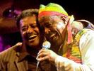 Alemayehu Eshete & Mahmoud Ahmed @ Zuiderpershuis — foto © Gregory Batens