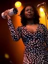 Manu Dibango's backing vocals (Couleur Café 2007)